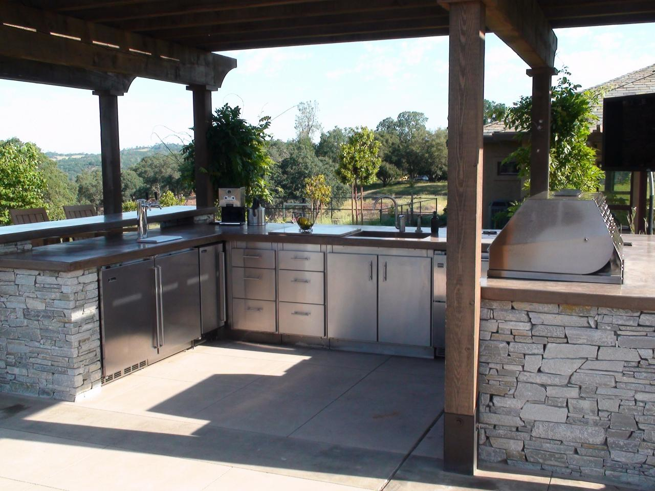 prefabricated outdoor kitchen islands ~ kass